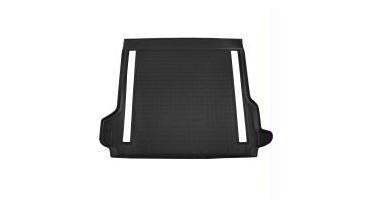 Protection de coffre en plastique antidérapant noir avec climatisation arrière