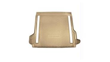 Protection de coffre en plastique antidérapant beige avec climatisation arrière