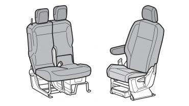 Housses sièges avant