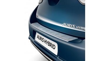 Protection de seuil de coffre en aluminium brossé