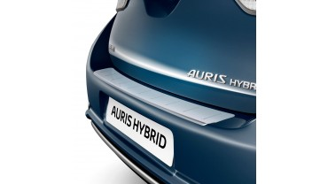 Plaque de protection de seuil de coffre en aluminium