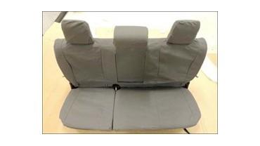 Housse de sièges arrière grise
