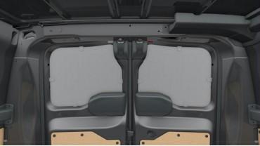 Protection des portes arrières 180 degrés - Parties supérieures sans vitres